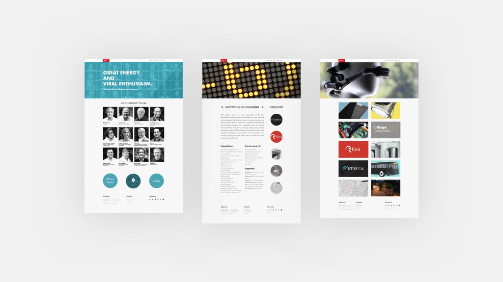 Intelligent Product Solutions 2014 Website Rebrand