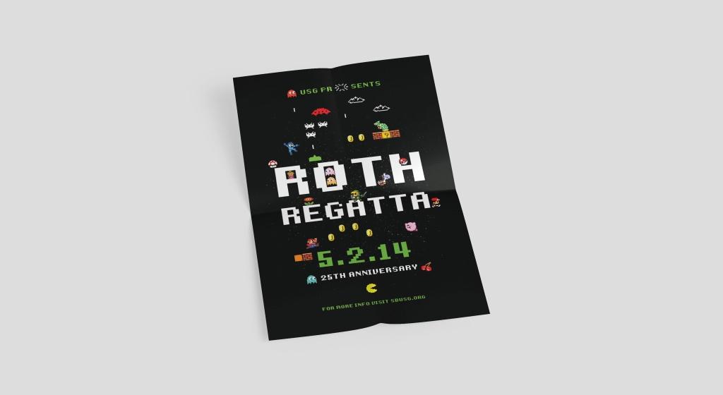 2014 Roth Regatta Poster Mockup