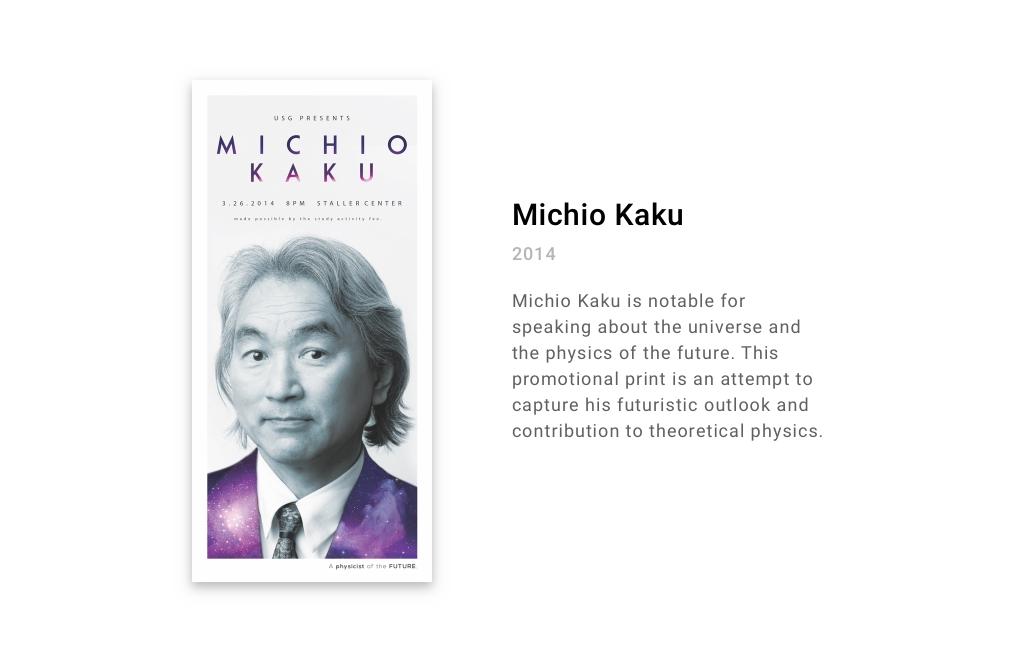 Stony Brook Concerts: Michio Kaku