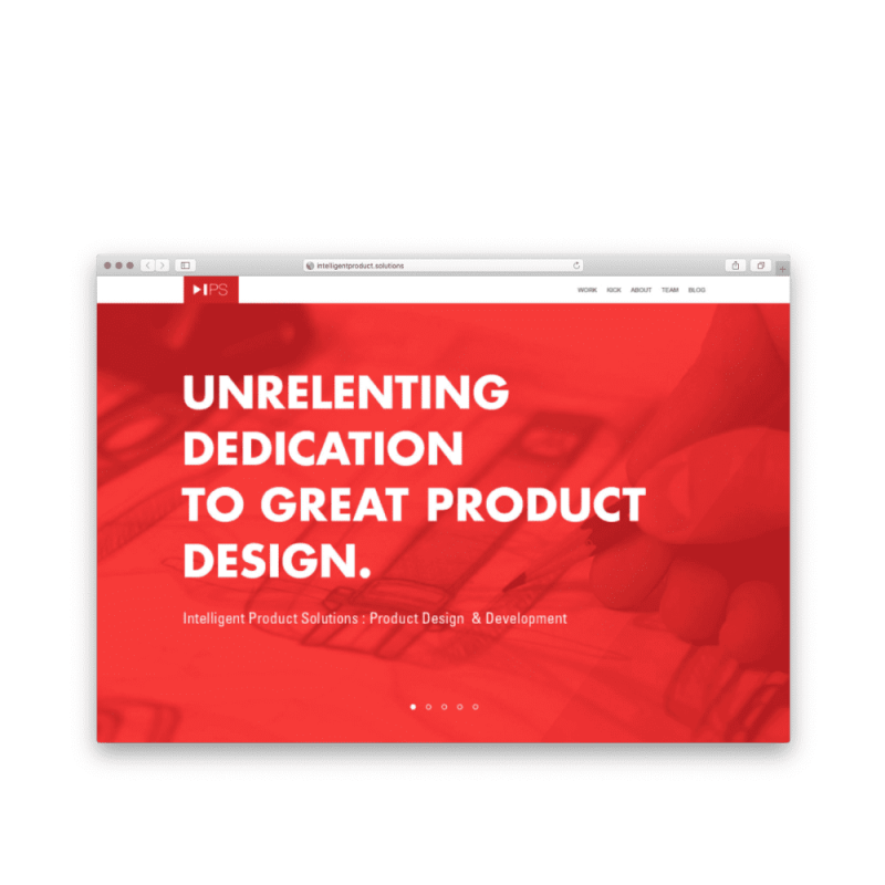 Intelligent Product Solutions Digital Rebrand