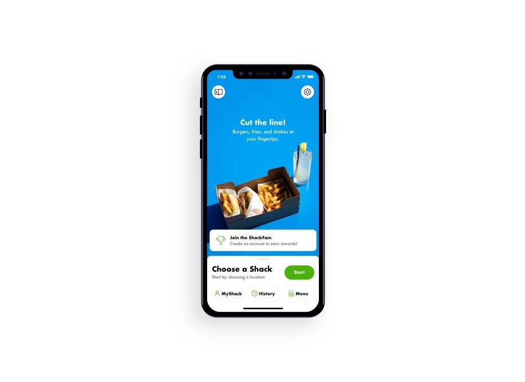 Shake Shack Mobile Ordering App