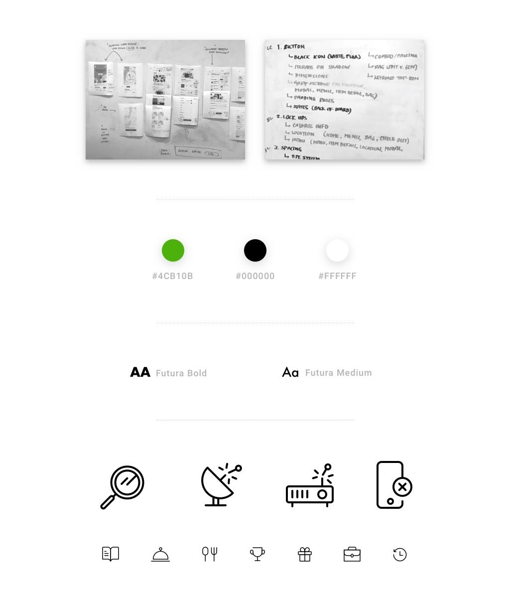 Shake Shack Mobile Ordering App Design System